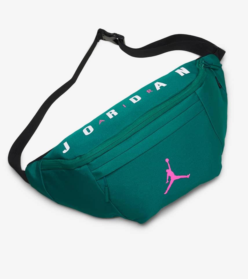 820df7403eb3bd Jordan Oversized Jumpman Crossbody Bag (Green) - 9A0242-E85