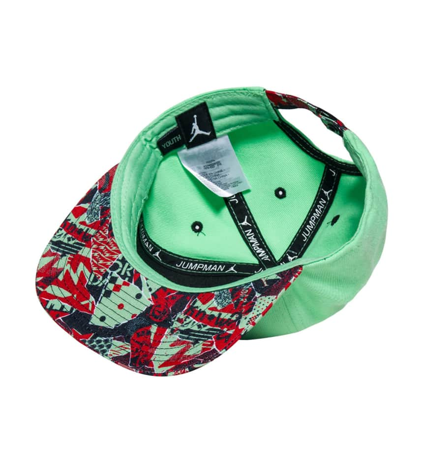 27dbc125f0d Jordan MARS SPIZIKE SNEAKER STRAPBACK CAP (Medium Green) - 9A1679 ...