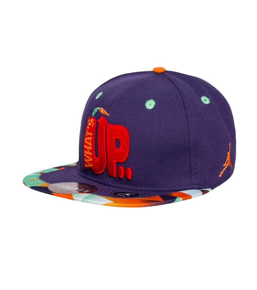 d6633b984f4 Jordan WHATS UP JOCK STRAPBACK CAP (Purple) - 9A1696