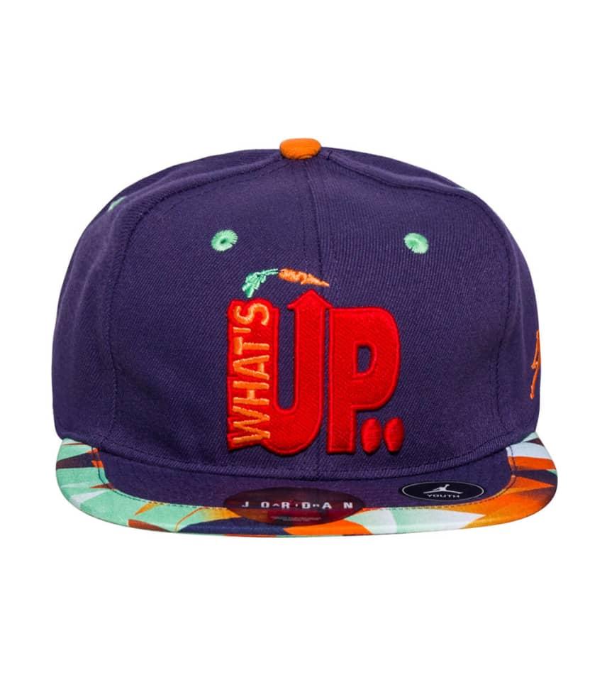 793416ee9fd Jordan WHATS UP JOCK STRAPBACK CAP (Purple) - 9A1696