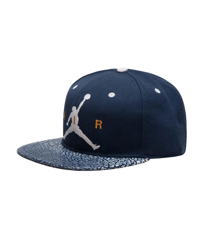 88796721801 Jordan ELEVATE SNAPBACK CAP (Navy) - 9A1767-U90 | Jimmy Jazz