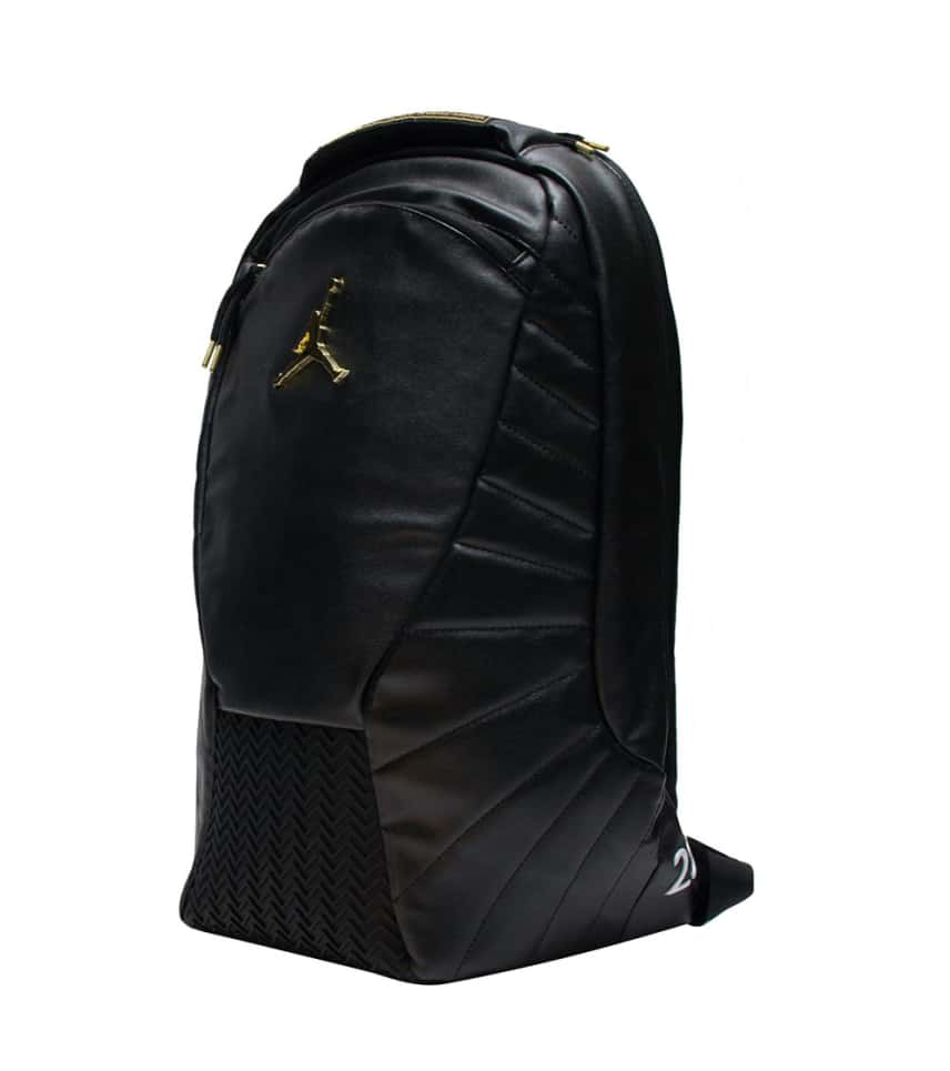 Jordan RETRO 12 BACKPACK (Black) - 9A1773-429