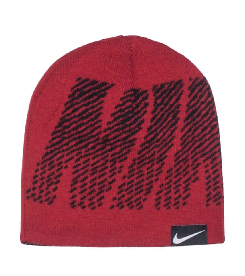 Nike REVERSIBLE JACQUARD BEANIE (Red) - 9A2593R2B  758a0aefb777