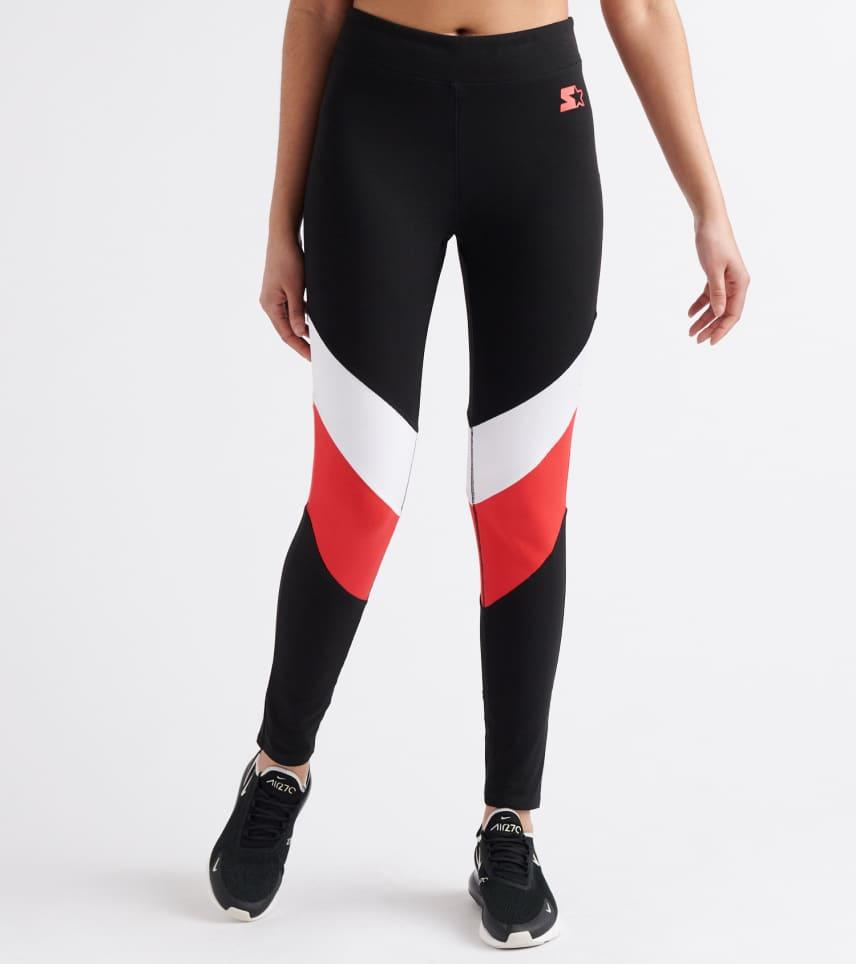 753896967ae2 Starter Color Blocked Leggings (Red) - 9S9G0170-RWH