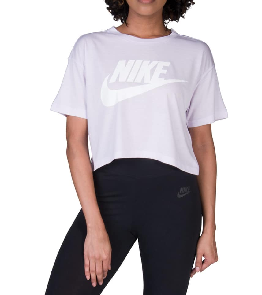 3a08b9ae0404a Nike Nike Sportswear Essential Crop Top (Medium Purple) - AA3144-509 ...
