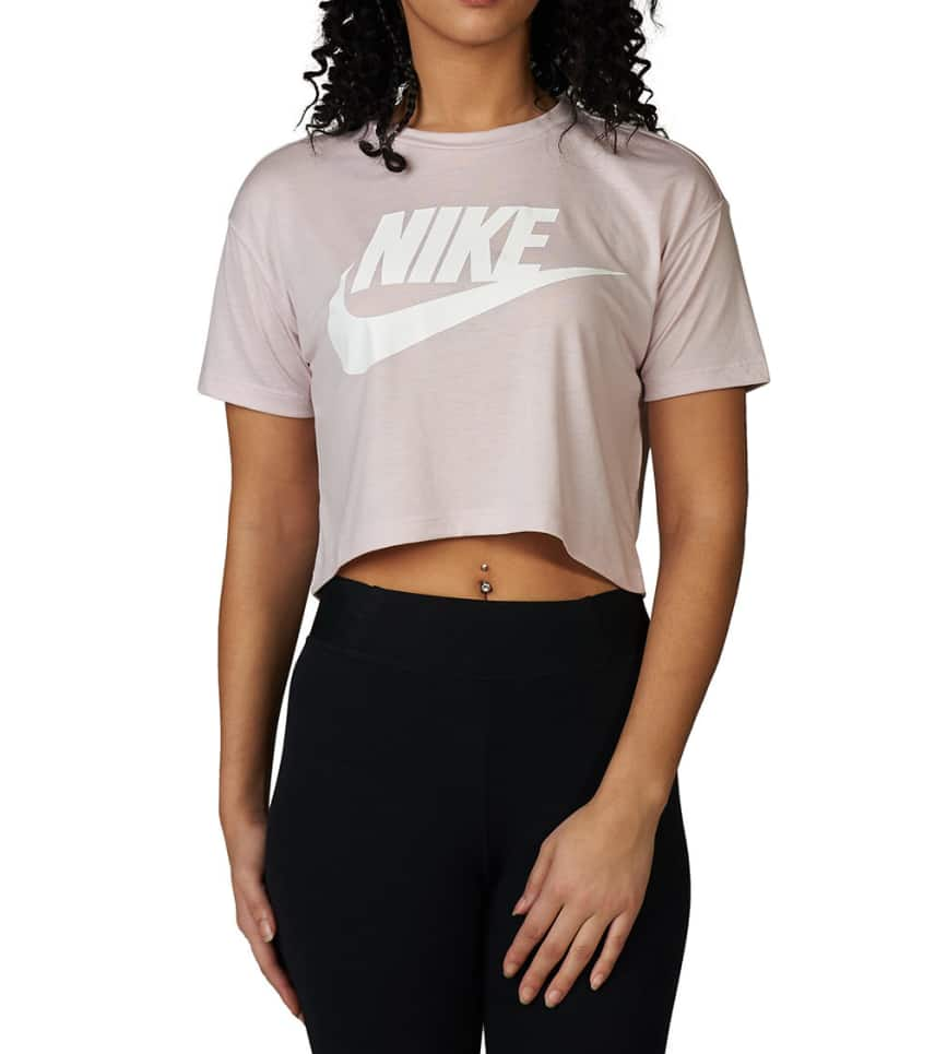 99de527d393237 Nike Essential Crop Top (Pink) - AA3144-699