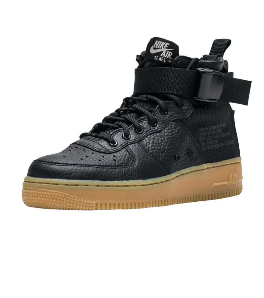 28a926cd23e15 Nike SF AIR FORCE 1 MID (Black) - AA3966-002