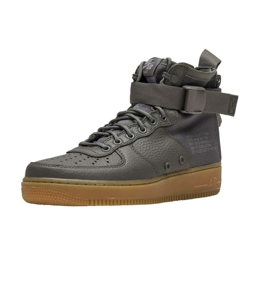 b53a8cf2ee3322 Nike SF AIR FORCE 1 MID (Dark Green) - AA3966-004
