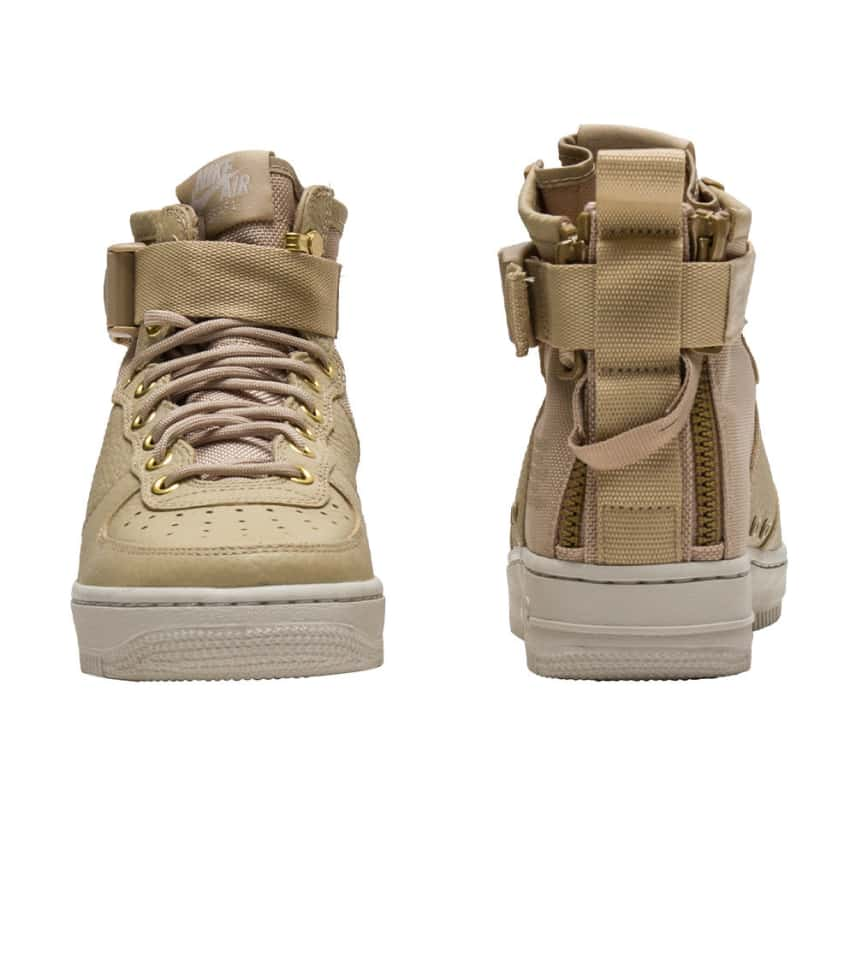 523b8a1d954f Nike SF AIR FORCE 1 MID (Beige-khaki) - AA3966-200