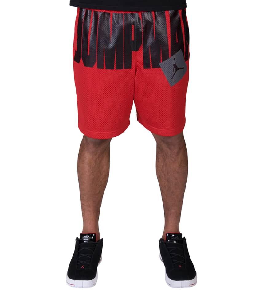 1e3af109a466 Jordan MENS Jumpman Air Mesh Shorts Red. Jordan - Athletic Shorts - Jumpman  Air Mesh Shorts Jordan - Athletic Shorts - Jumpman Air Mesh Shorts ...