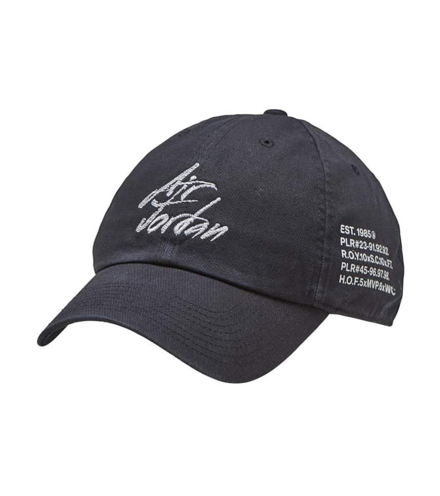 ea0c1aa54e1e3a Jordan GOAT H86 SCRIPT HAT (Black) - AA5742-010