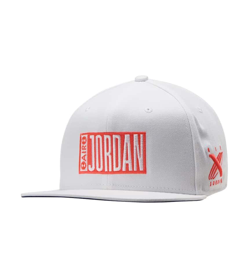 e7f5c8fa4adb Jordan Tinker Icon Snapback (White) - AA5746-100