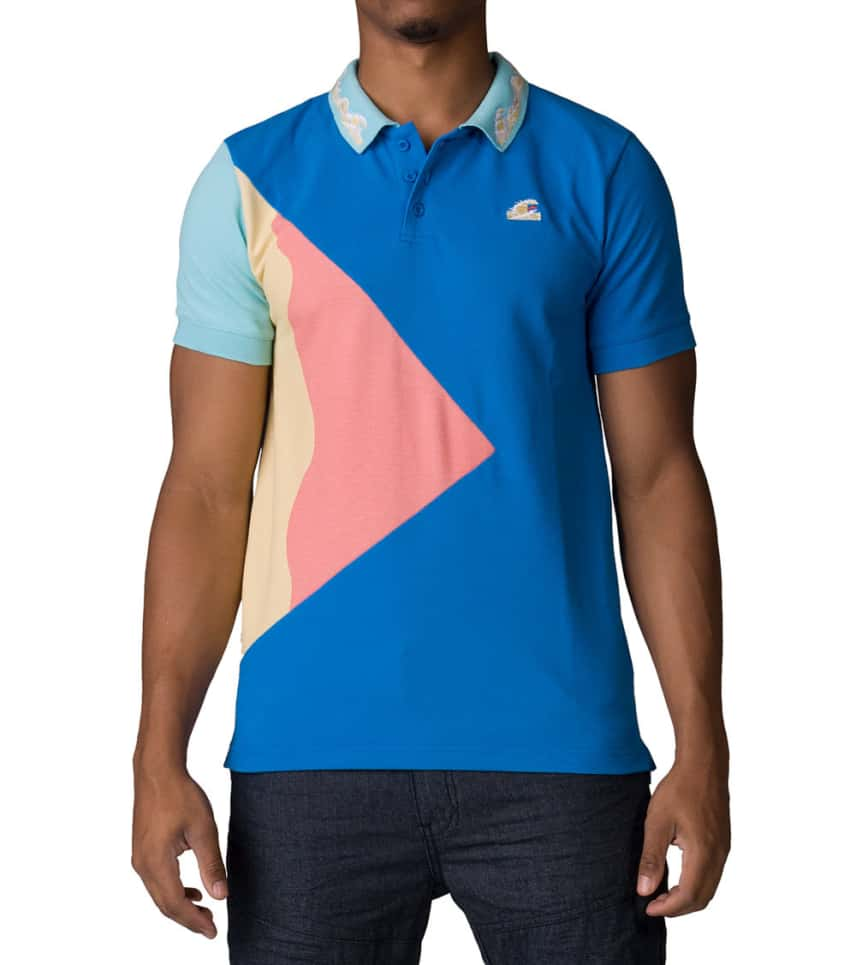 a4909839 Pink Dolphin Tsunami Waves Polo (Multi-color) - AF11704TWPB | Jimmy Jazz