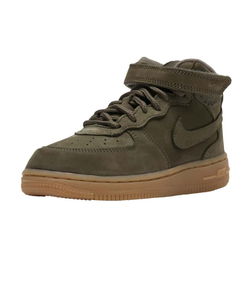 076408de1550 Nike AF1 Mid WB (Dark Green) - AH0757-202