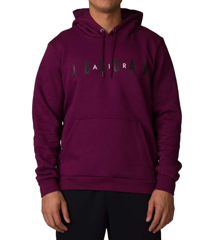 Jordan Flight Fleece Hoodie (Burgundy) - AH4509-609  ae48e7882