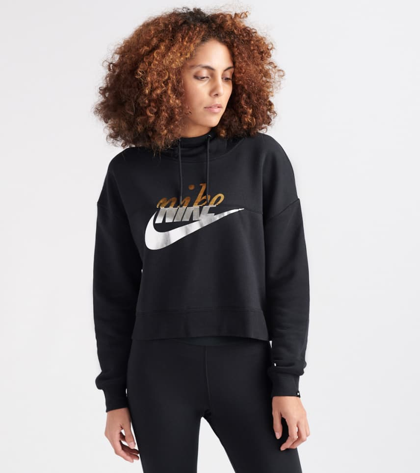 bf5d7eb79f08 Nike WOMENS Metallic Rally Hoodie Black. Nike - Sweatshirts - Metallic  Rally Hoodie Nike - Sweatshirts - Metallic Rally Hoodie ...