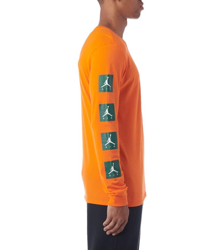 02613ec7b2a6 Jordan JSW LS Be Like Mike VRBG Tee (Orange) - AJ1167-819