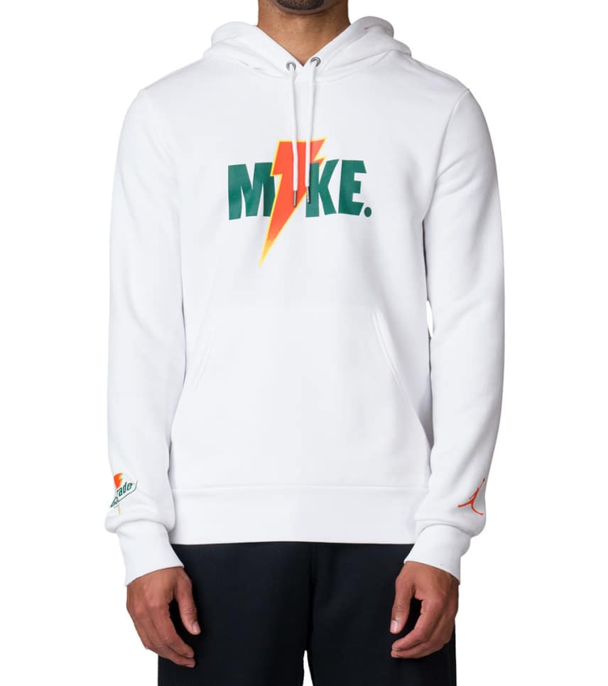 ead2165a1a9a47 Jordan Like Mike Fleece Hoodie (White) - AJ1173-100