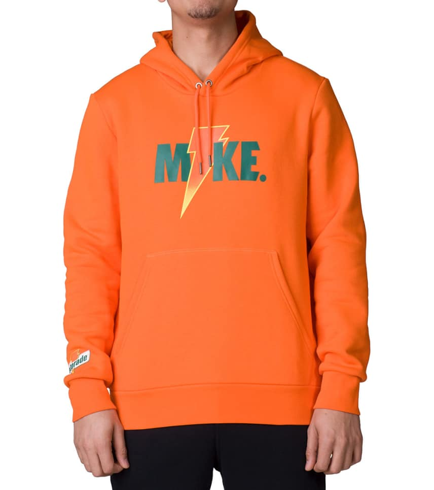 3c65c37f5a7d00 Jordan Like Mike Fleece Hoodie (Orange) - AJ1173-819