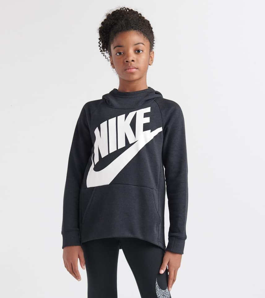 Nike Girls 7-16 NSW Po Hoodie (Black) - AJ6775-010  4efa5894d