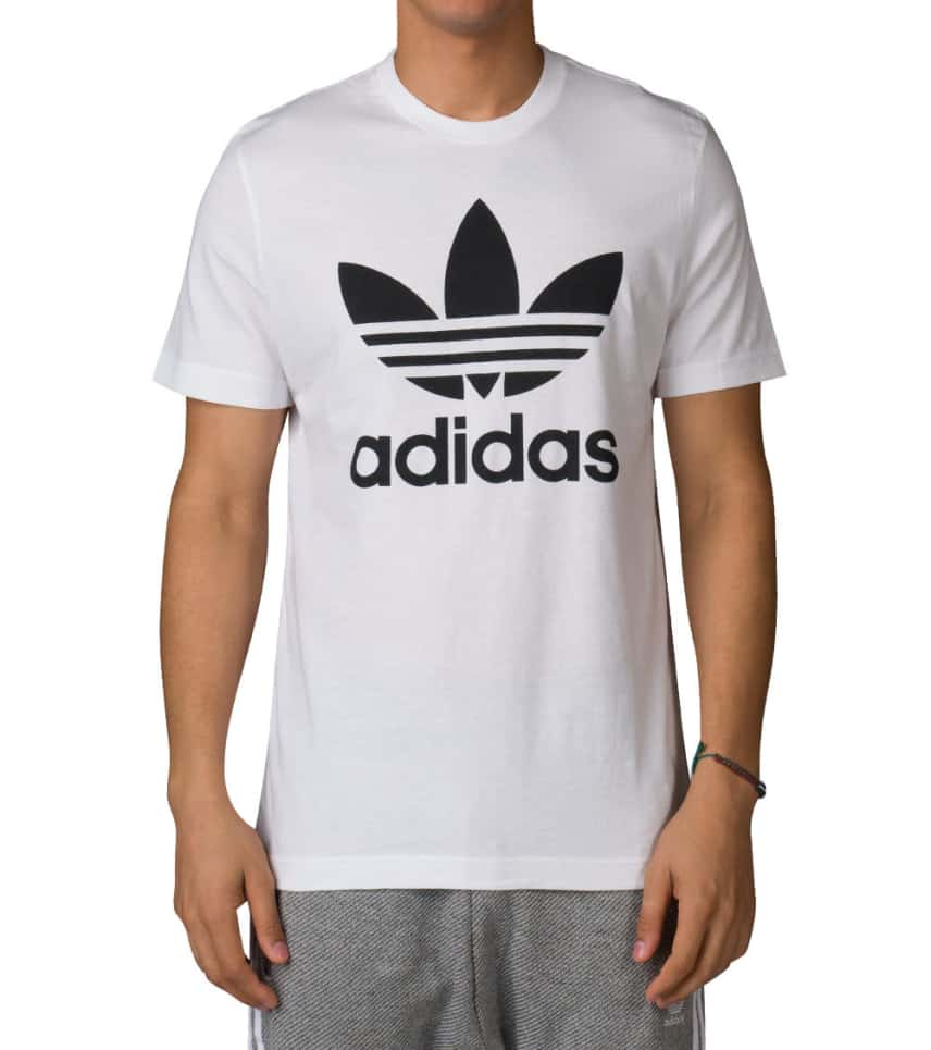 c0bbc222650d adidas ORIGINALS TREFOIL SS TEE (White) - AJ8828-100