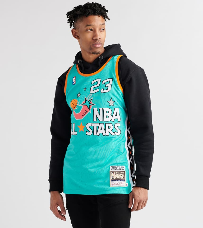 6853eb9ff71b Mitchell and Ness 1996 ASG Michael Jordan Jersey (Green) - AJY4GS18 ...