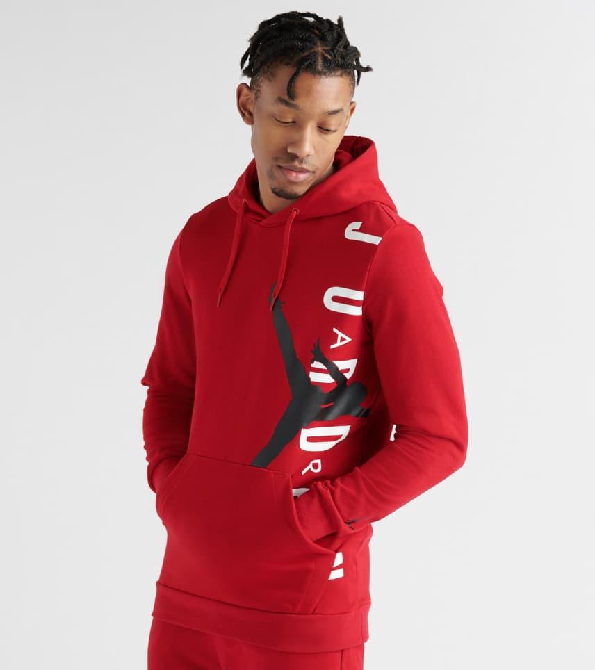 2aa35869887639 Jordan Jumpman Air Lightweight Pullover Hoodie (Red) - AO0446-687 ...