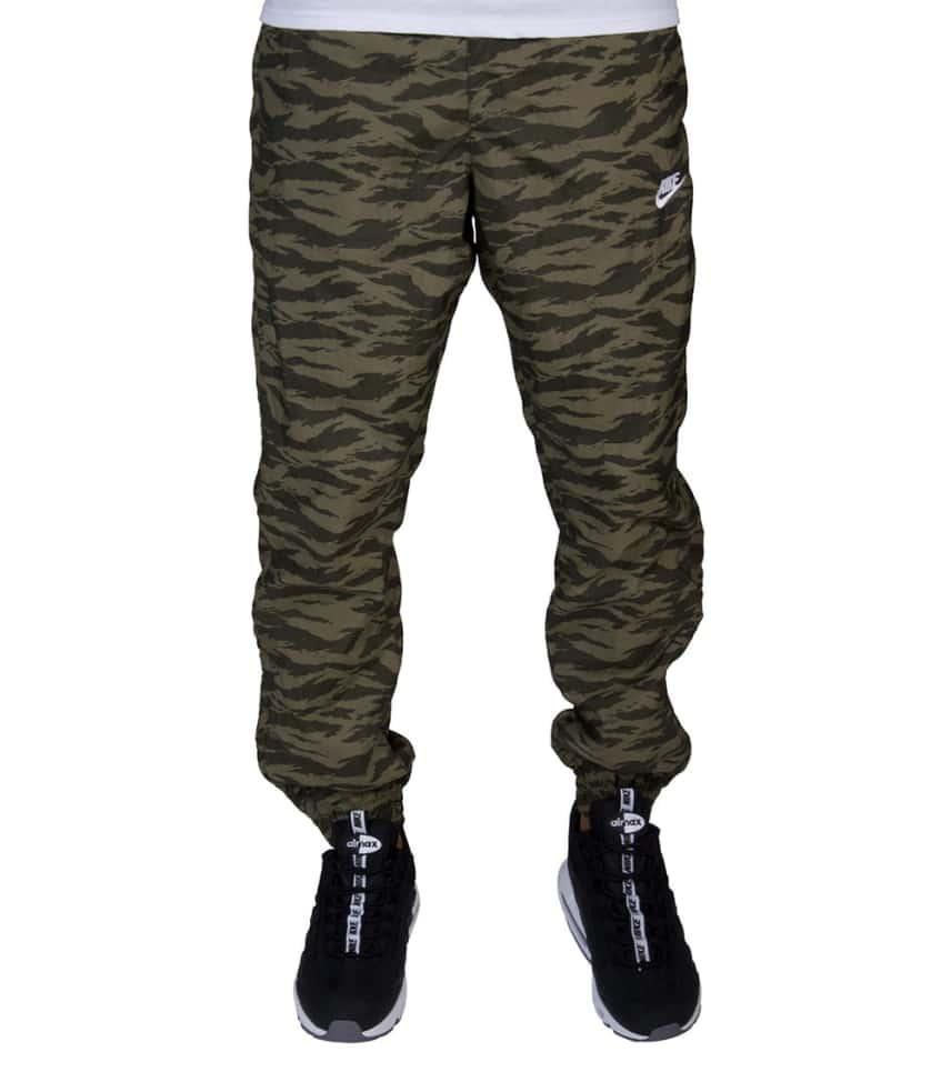 f081d3809cd0 Nike Sportswear Printed Swoosh Woven Pant (Medium Green) - AO0863 ...
