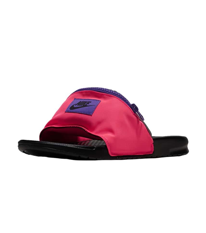 c02cc3a4053c00 Nike Benassi Fanny Pack Slide (Pink) - AO1037-600