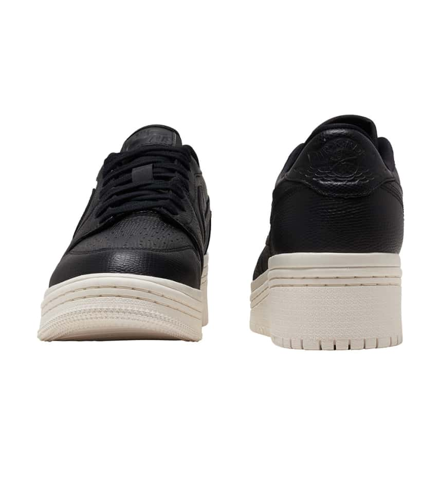 5d2ef1b108eec2 Jordan Retro 1 Low Lifted Sneaker (Black) - AO1334-014
