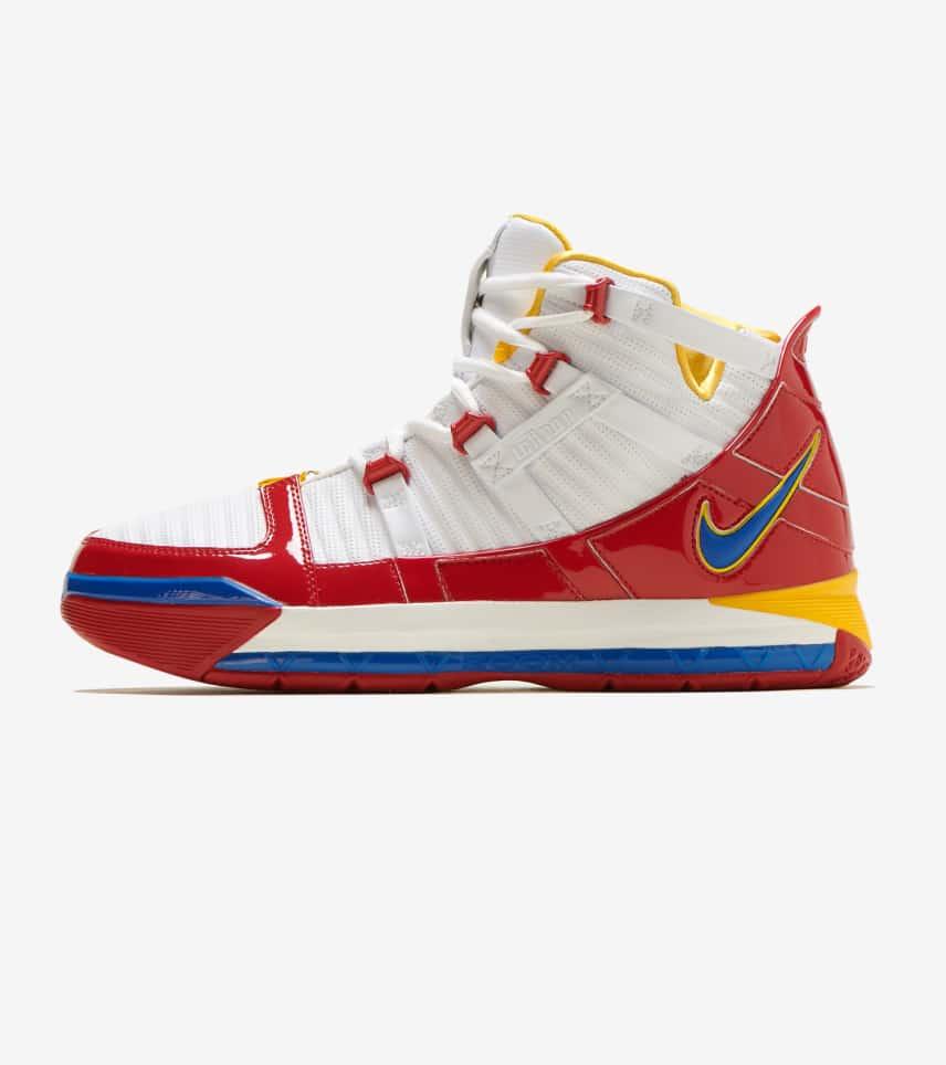 6eaf59392aa76 Nike Zoom LeBron III QS (White) - AO2434-100
