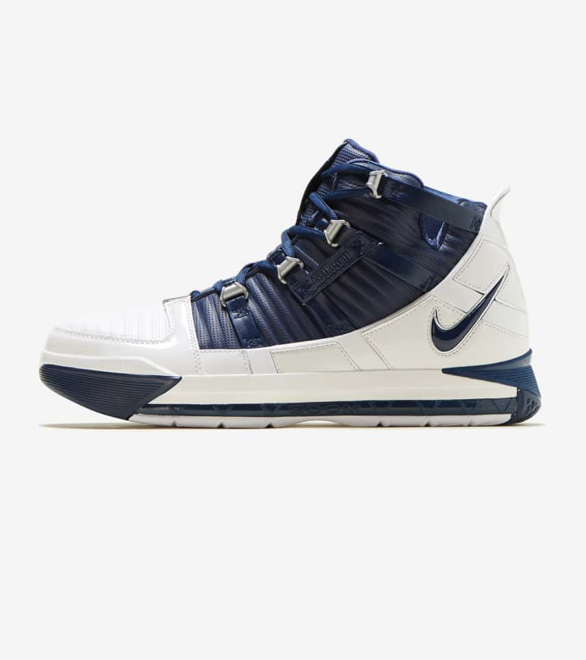 914bced8d152 Nike Zoom LeBron III QS (Navy) - AO2434-103