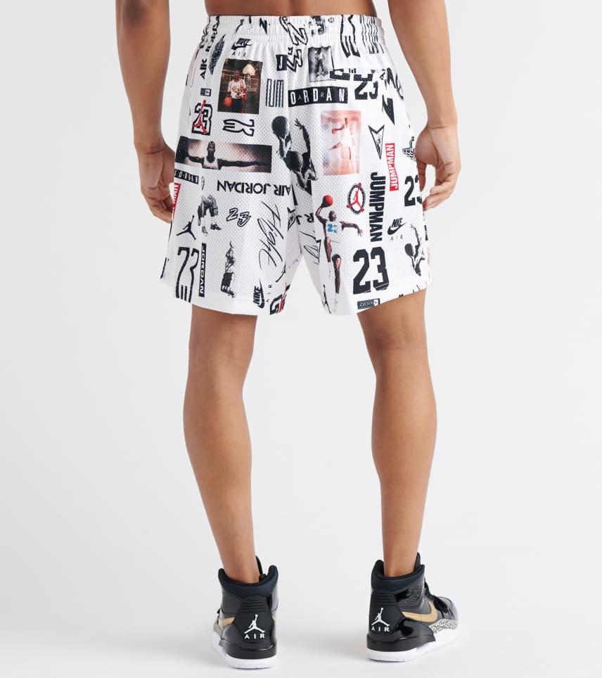 bcf93aa5054 Jordan Jumpman GFX Mesh Shorts (White) - AO9585-100 | Jimmy Jazz