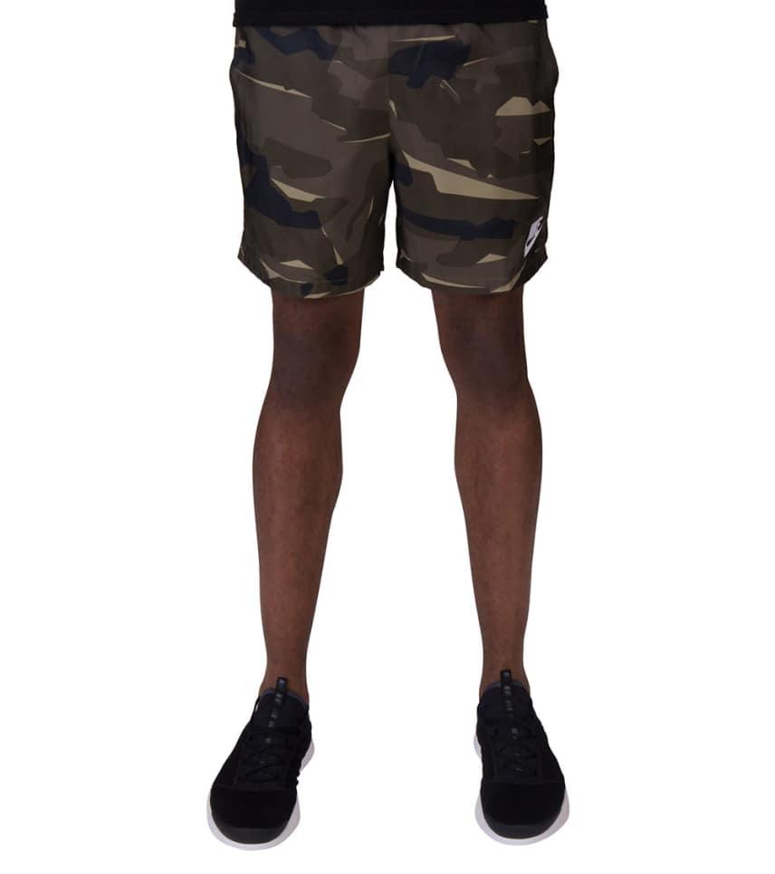 8967c1f787650 Nike Camo Woven Flow Shorts (Dark Green) - AQ0600-325