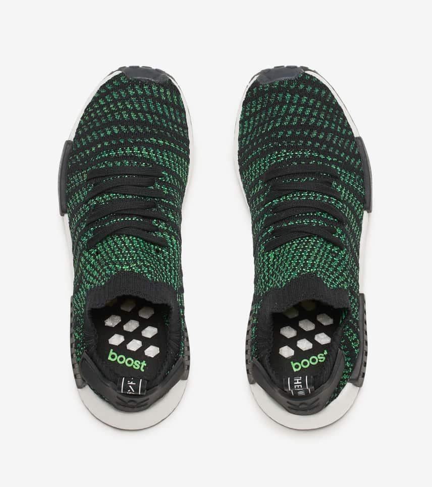 93e01d9ad3c64 adidas NMD R1 STLT Primeknit (Green) - AQ0936
