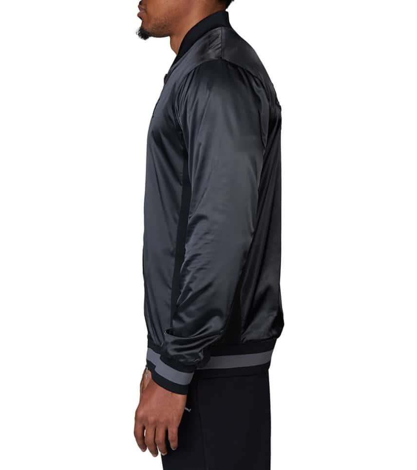 2b3ad1e5f425 Jordan Satin Jacket (Black) - AQ0938-021