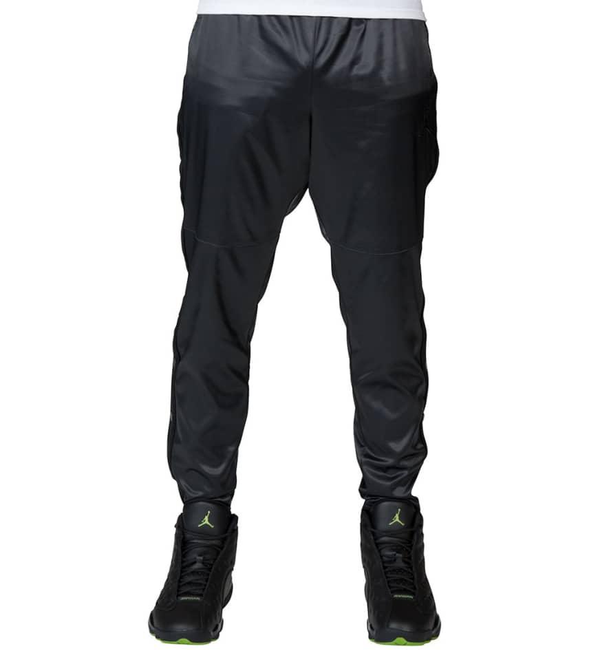20fbd3729db6f7 Jordan Satin Full Snap Pants (Black) - AQ0940-021