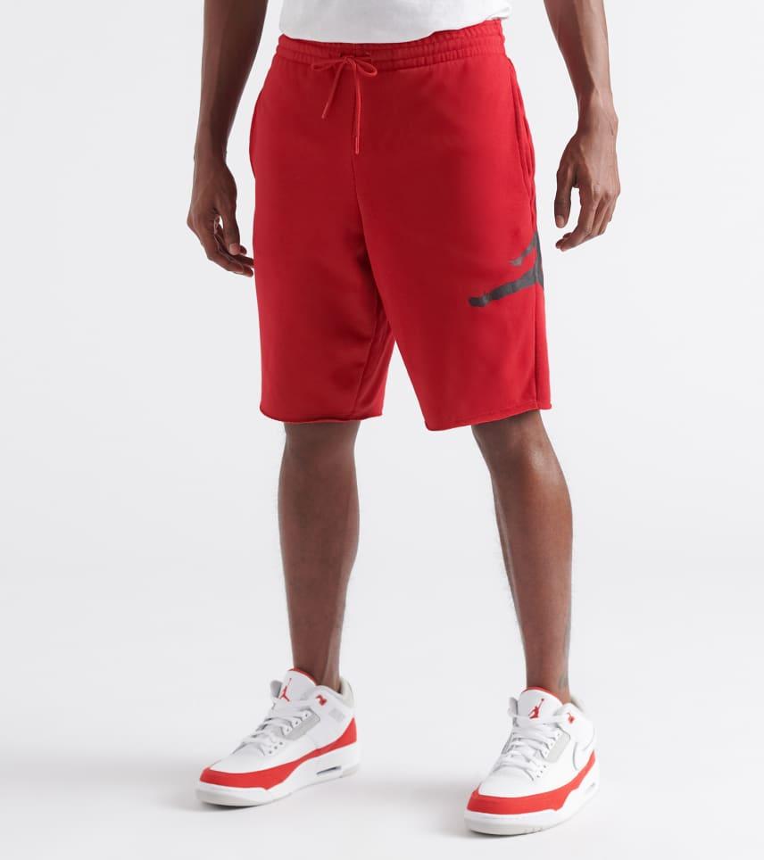 cf149957845c Jordan MENS Jumpman Air Fleece Shorts Red. Jordan - Athletic Shorts - Jumpman  Air Fleece Shorts Jordan - Athletic Shorts - Jumpman Air Fleece Shorts ...