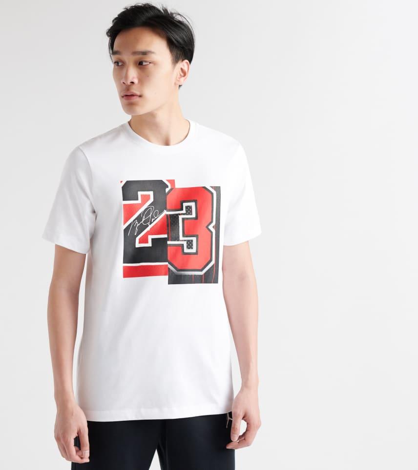 0f233c7b0d97 Jordan Slash 23 SS Tee (White) - AQ4108-100