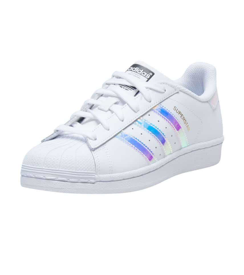 adidas SUPERSTAR METALLIC SNEAKER (White)