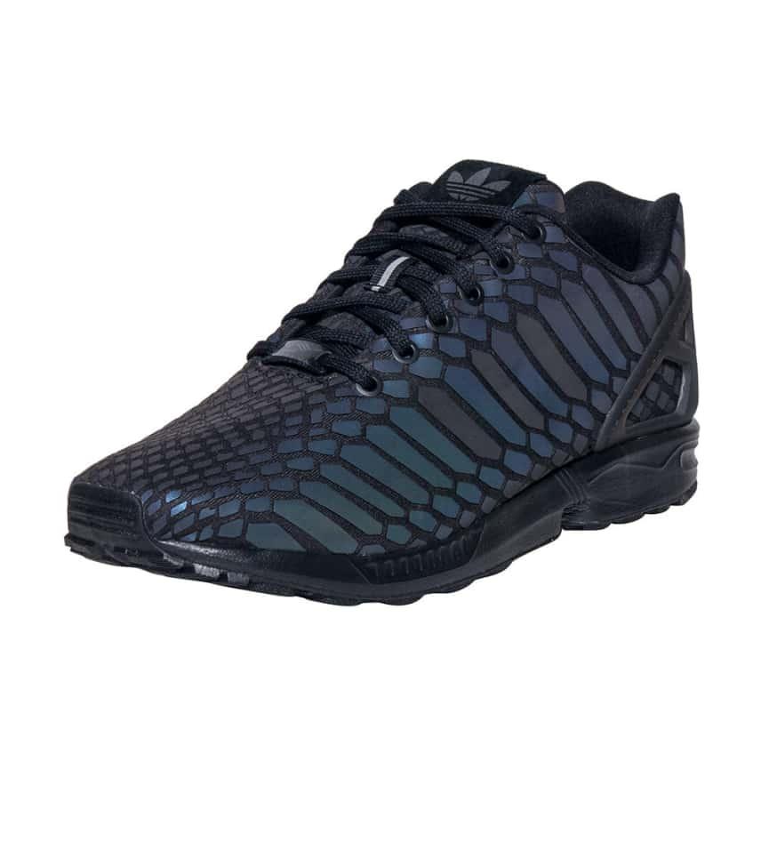 40f8e40149df0 adidas ZX FLUX XENO REFLECTIVE SNEAKER (Black) - AQ7418
