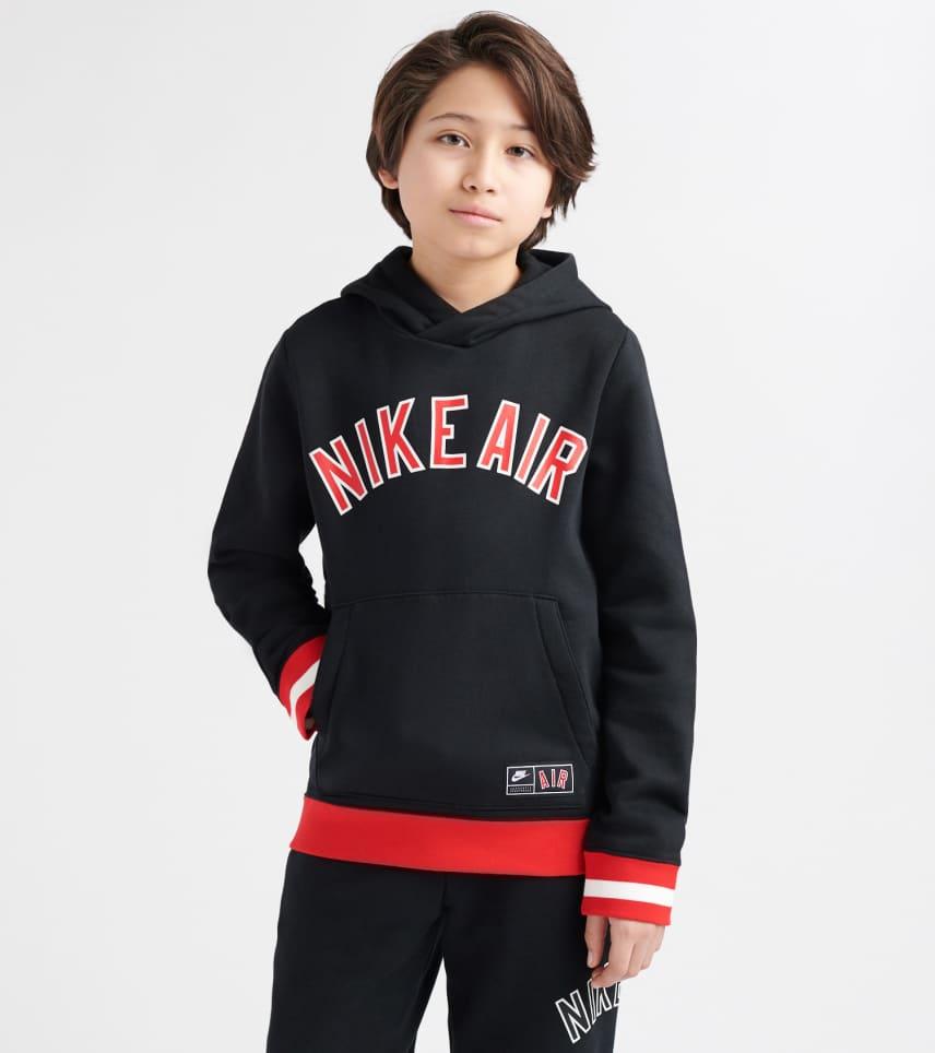 832267bff Nike Air Fleece Pullover Hoodie (Black) - AQ9418-010