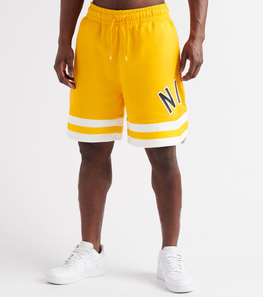 9d688e086b8 Nike Air Fleece Shorts (Gold) - AR1829-739 | Jimmy Jazz