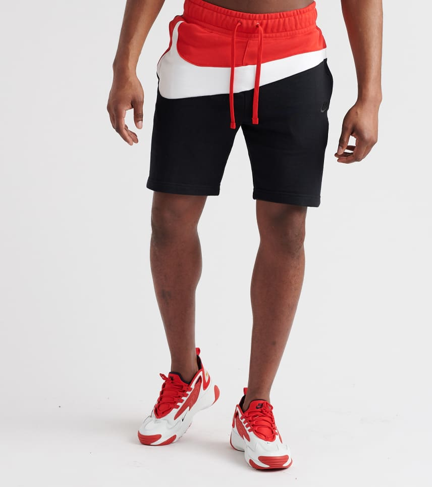 e036654b Nike Swoosh Fleece Shorts (Black) - AR3161-011 | Jimmy Jazz