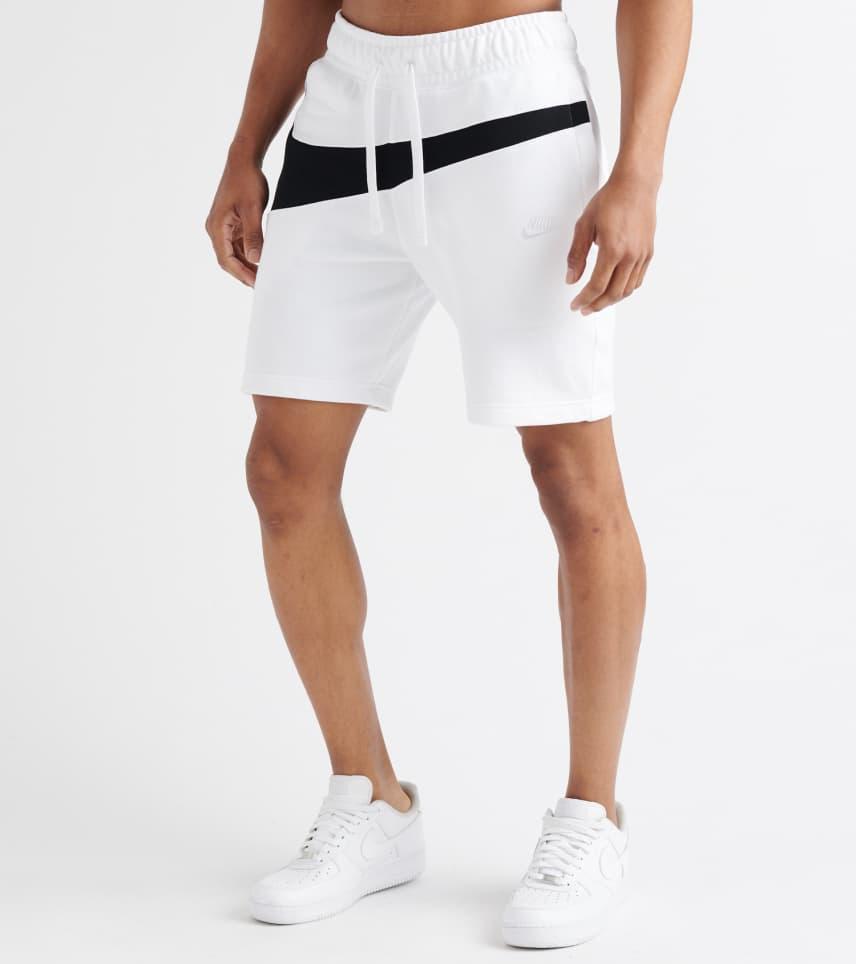 c68ad7d51d1 Nike Swoosh Fleece Shorts (White) - AR3161-100 | Jimmy Jazz