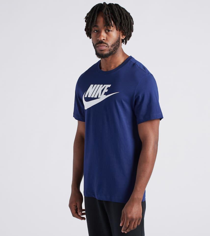 1f1fc9e7 Nike Icon Futura Tee (Navy) - AR5004-492   Jimmy Jazz