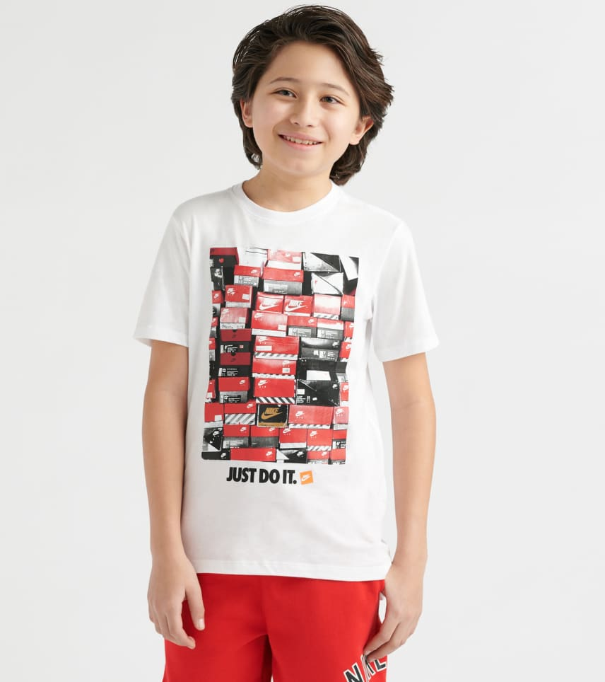 511840605aca5 NIKE Shoebox T-Shirt (White) - AR5269-100 | Jimmy Jazz