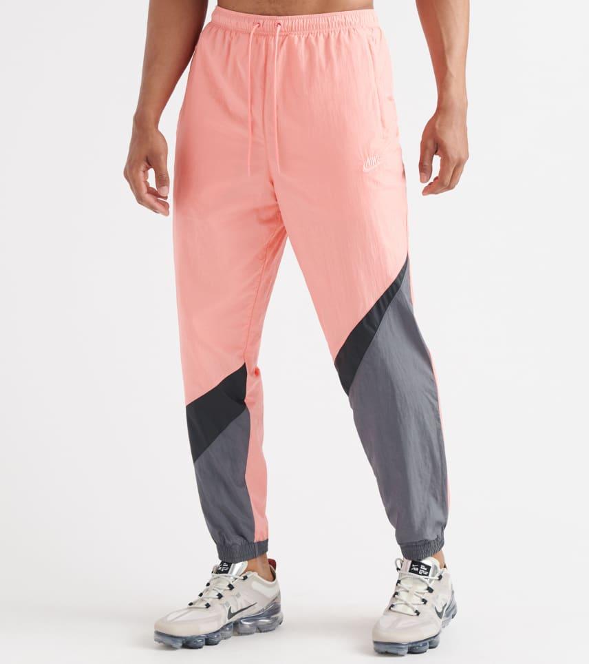 700c14233197b5 Nike Swoosh Woven Track Pants (Pink) - AR9894-668