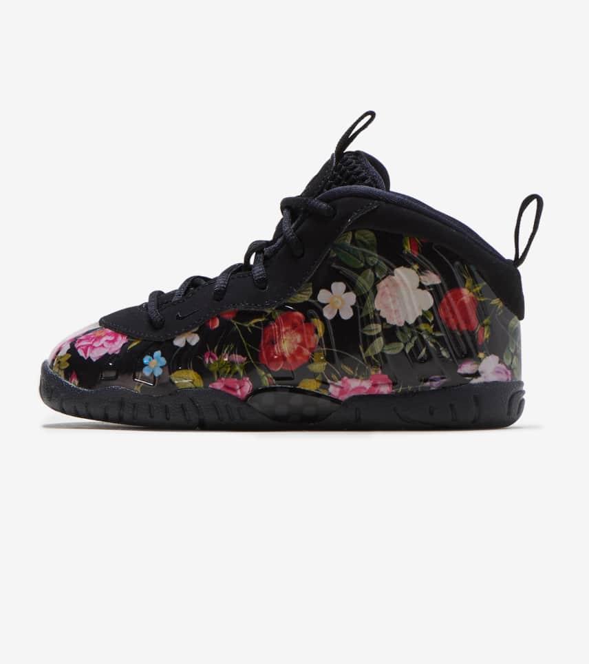 d31060b43d9b00 Nike Little Posite One PRM (Black) - AT8250-001