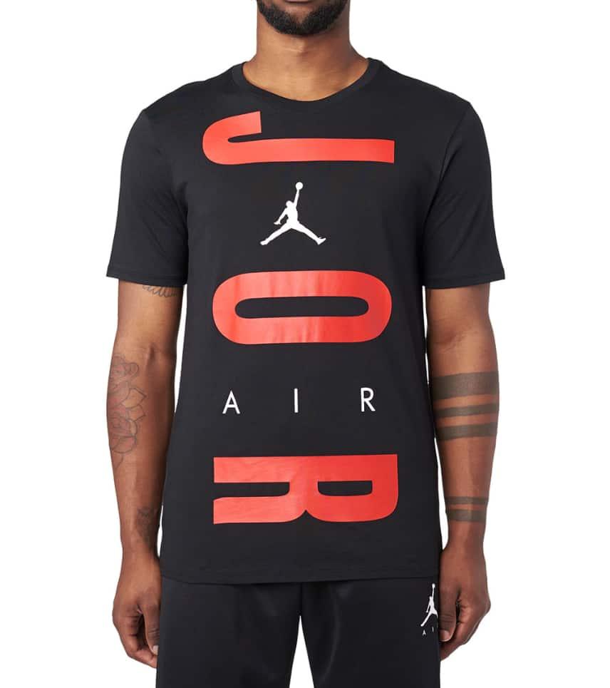 c135aaa5aaaf36 Jordan Air Wordmark Short Sleeve Tee (Black) - AV2068-010